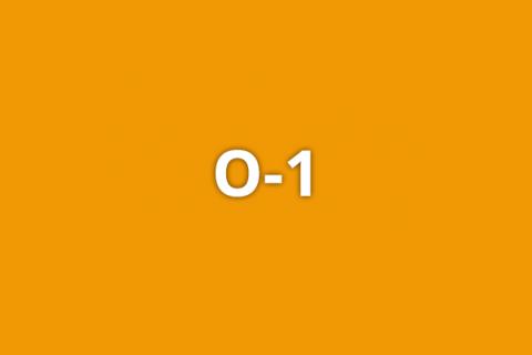 O-1 on an orange background